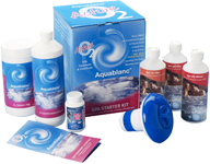 The Aqua Blanc Range Pool/SPA Chemical Range